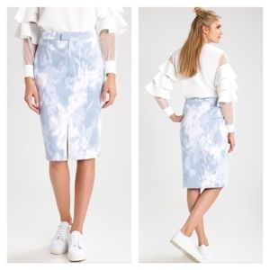 Banana Republic | Loren Floral Pencil Skirt